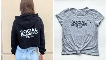 """""""Social distancing club"""" merch by Rock Candy at"""