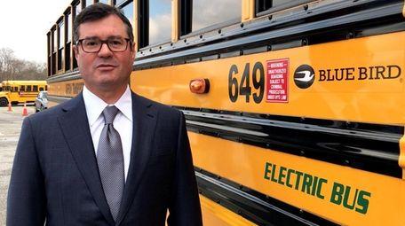 John Corrado, president of Suffolk Transportation Service, which