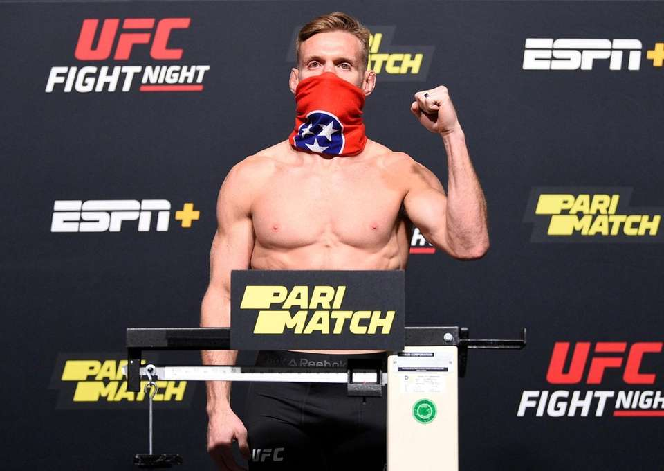 In this handout image provided by UFC, Scott