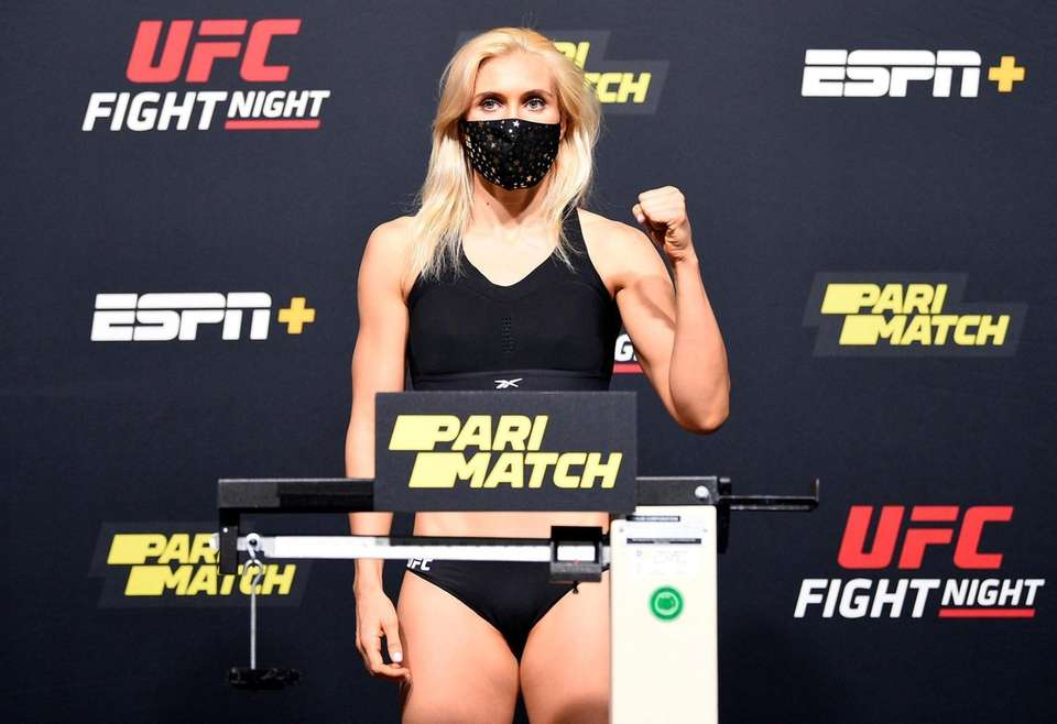 In this handout image provided by UFC, Yana