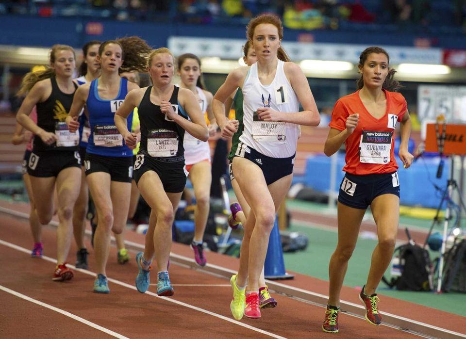 Tianna Guevara of Miller Place ran 4:36.94 to