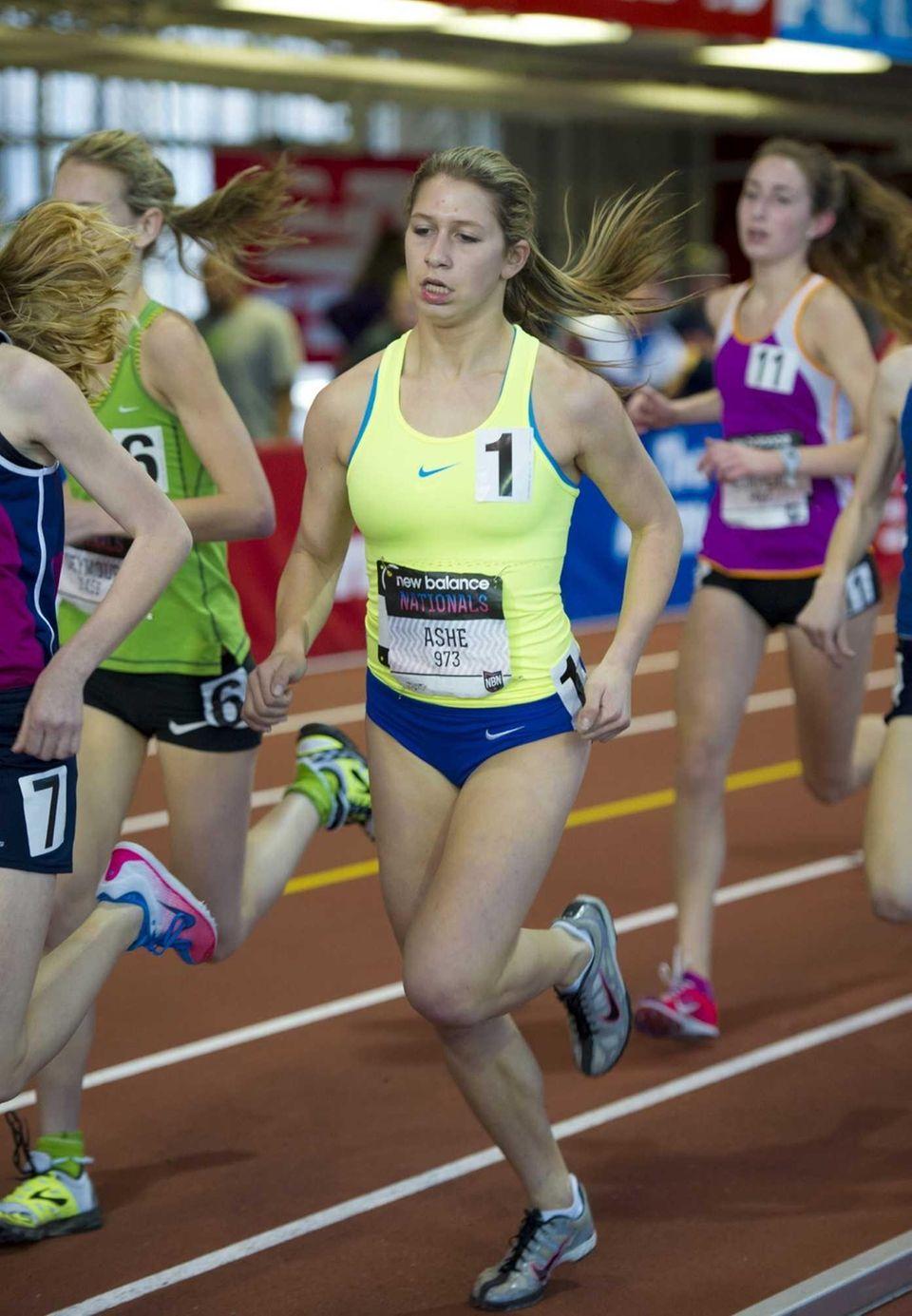 Amanda Ashe of East Meadow ran 11:26.43 to