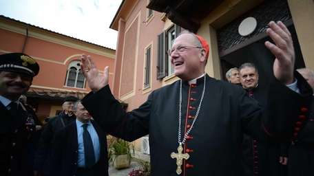 U.S. Cardinal and head of New York archdiocese,