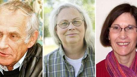 The three candidates for seats on the Greenport