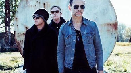 Depeche Mode -- Martin Gore, Andy Fletcher and