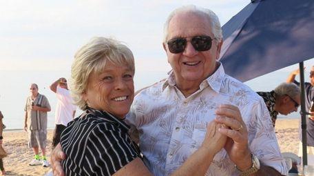Terry Giudici of Huntington with his wife, Lois.