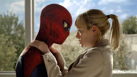 Andrew Garfield as Peter Parker and Spider-Man, and