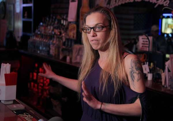 Holbrook Backporch bartender Kristi Reikert talks about being