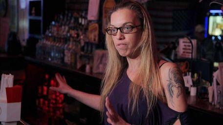 Holbrook Backporch bartender Kristi Reikert talks about being