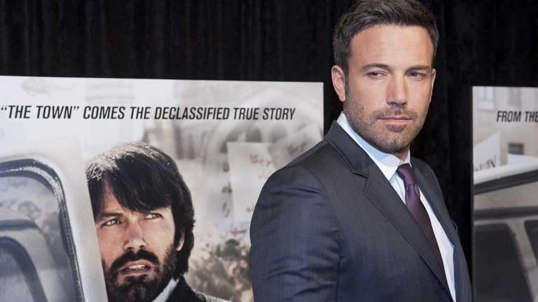 Ben Affleck at the premiere of his film