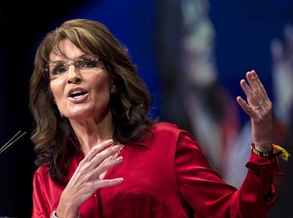 Sarah Palin, the GOP candidate for vice-president in