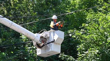 A ulility worker from Echo Powerline from Louisiana,