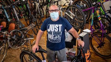 Bike Junkie owner Douglas Rodriguez says there is