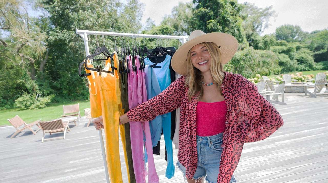 Katie Sands, a fashion, beauty, lifestyle influencer and