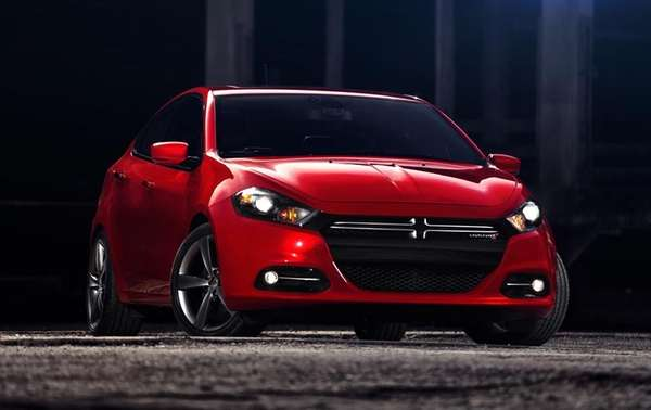 The 2013 Dodge Dart has an Aero trim