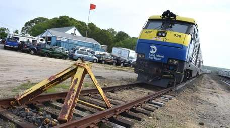 The Long Island Rail Road terminates in Montauk;