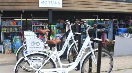 You'll find cycles to rent in Montauk through