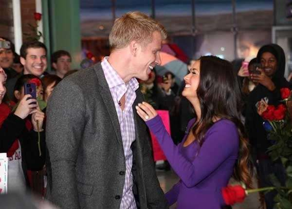Sean Lowe and his new fiancee Catherine Giudici