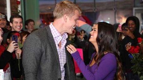 Sean Lowe and his new fiancee Catherine Giudici