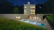 This Sagaponack house was designed by world-renowned architects