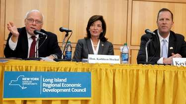 Long Island Regional Economic Development Council co-vice chairmen