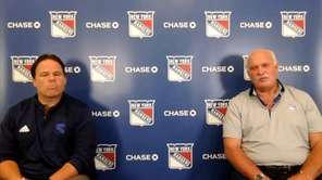 Rangers president John Davidson and Jeff Gorton spoke on