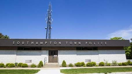 Southampton Town Police Department in Hampton Bays. (May