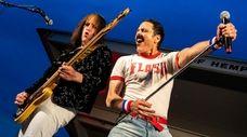 Bassist Randy Gregg and lead singer Joseph Russo