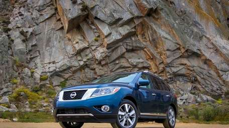 The 2013 Nissan Pathfinder is now built on