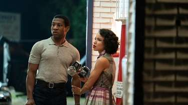 Jonathan Majors and Jurnee Smollett-Bell in HBO's Season