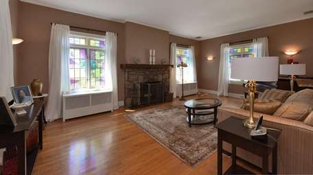 The house features hardwood floors
