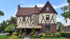 This renovated Tudor-style home in Williston Park village