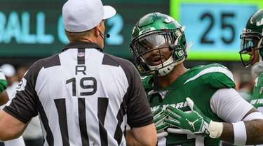 Jets strong safety Jamal Adams pleads his case