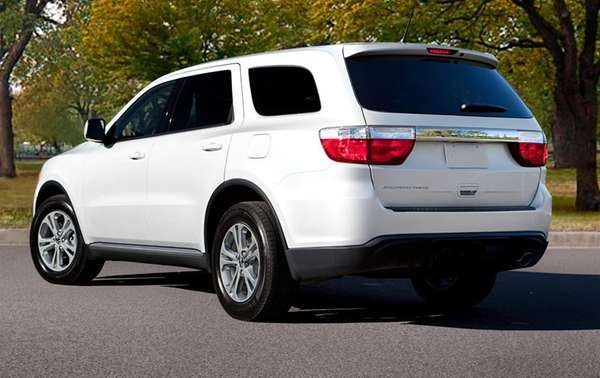 The 2013 Dodge Durango looks distinctive. It leans