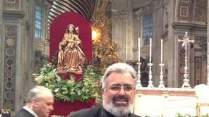 The Rev. Jerry DiSpigno pastor of Mary Immaculate