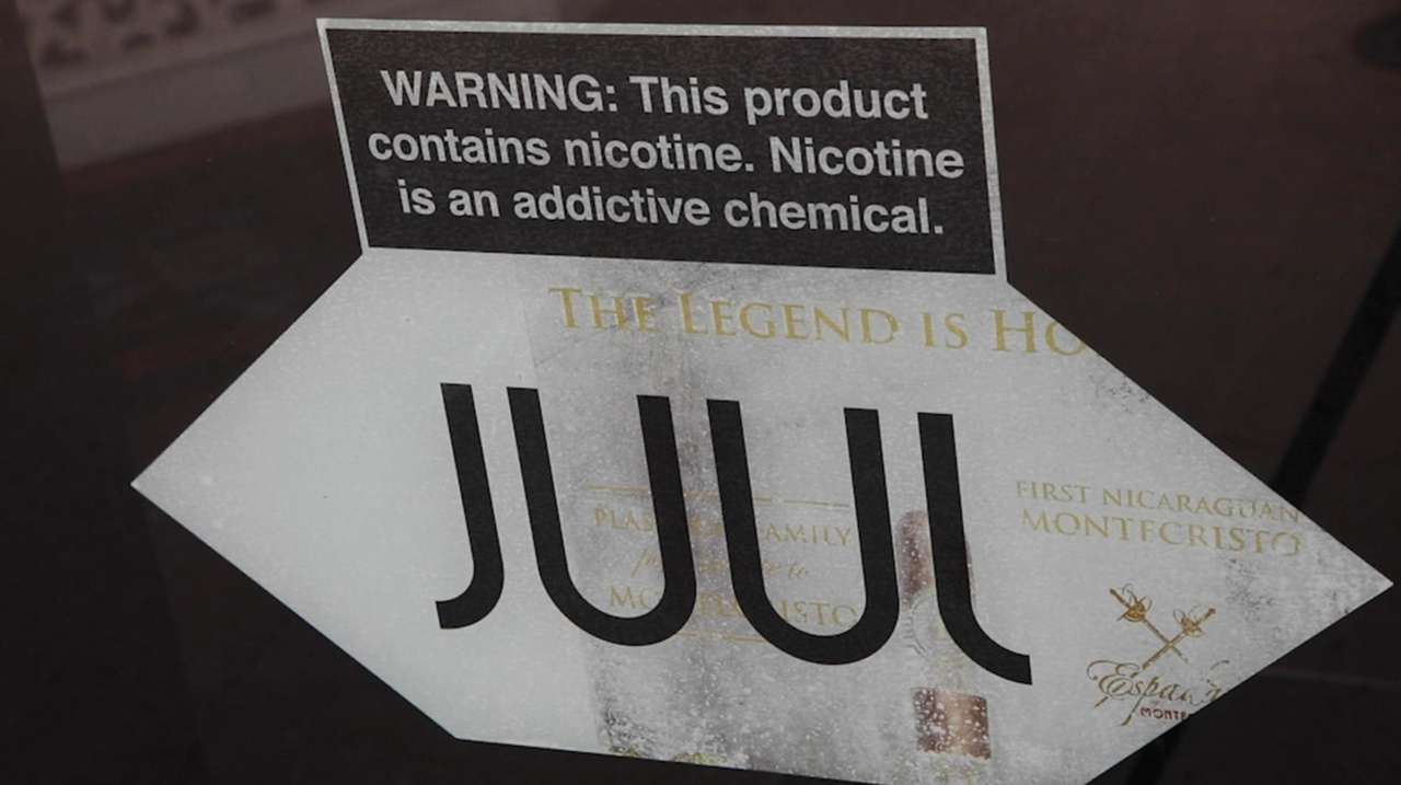 New York's ban on flavored vape products went