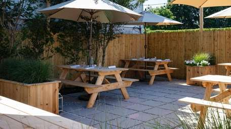 There's an increased emphasis on casual outdoor dining