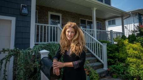 Allstate agent Christina Shaw, seen at her home