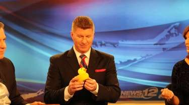 News 12 Long Island's Stone Grissom checks out