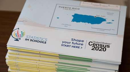 Census 2020 materials were available at the office