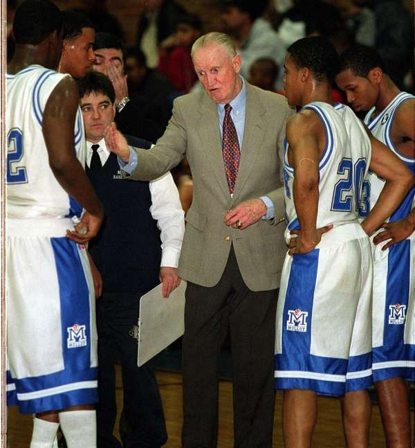 Archbishop Molloy High basketball coach Jack Curran earned