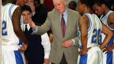 Archbishop Molloy High basketball coach Jack Curran earned