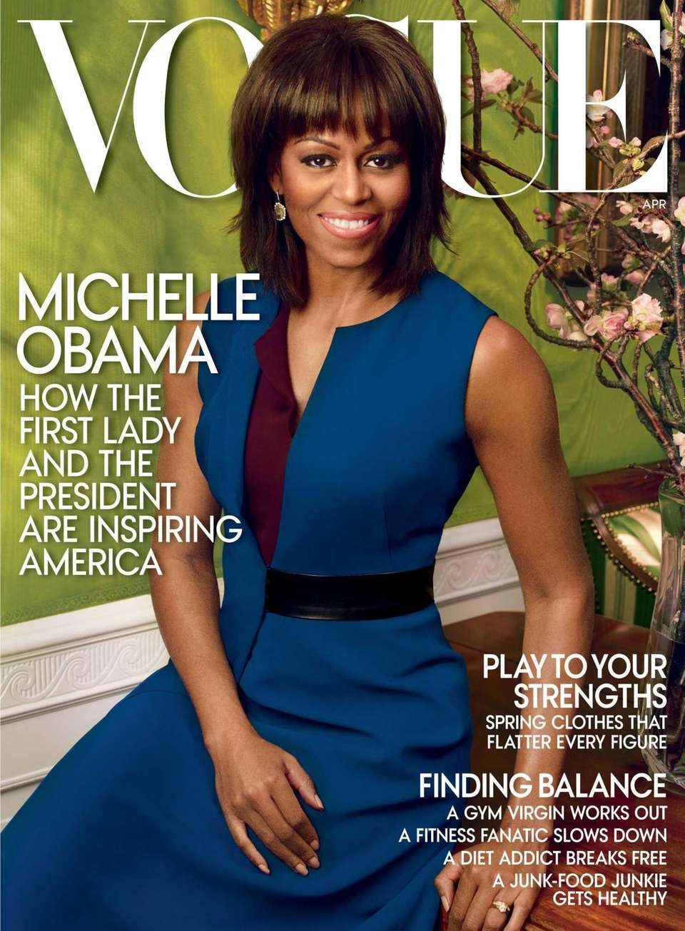 This cover image shows first lady Michelle Obama's