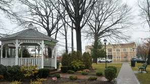 The gazebo at Malverne's Reese Park is where