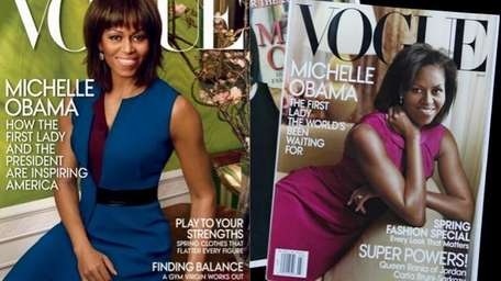 Michelle Obama on the April 2013 cover of