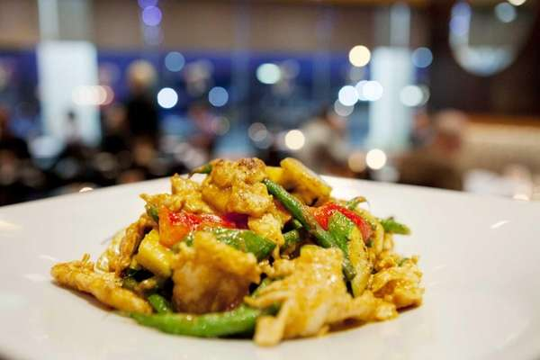 Veer east with West East's Malaysian red curry,