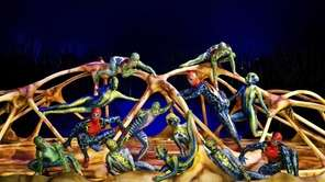 Cirque du Soleil has settled into the Big