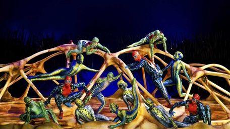 Cirque du Soleil has settled into the Big