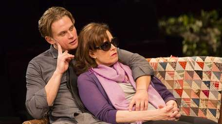 Sigourney Weaver with Billy Magnussen in Christopher Durang's