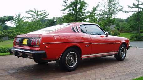 The 1977 Toyota Celica GT Liftback owned by